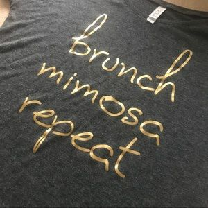 Brunch, mimosa, repeat t-shirt